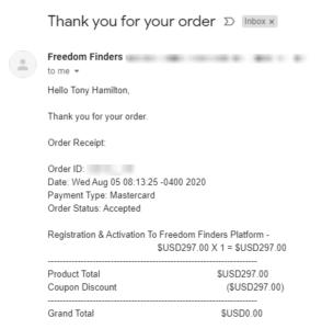 Freedom Finders Platform